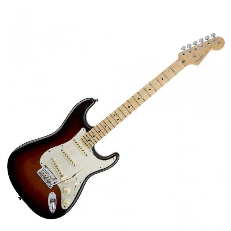 chitarra elettrica fender stratocaster american standard sunburst