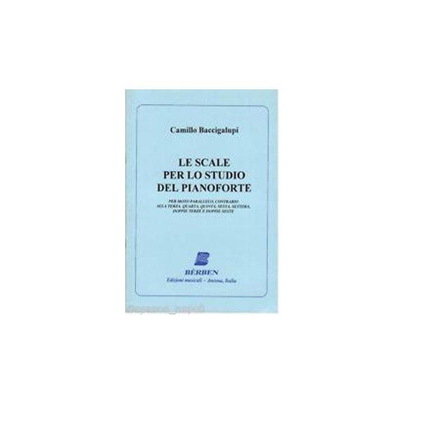 BACCIGALUPI Camillo Le scale per lo studio del pianoforte edizioni Bèrben