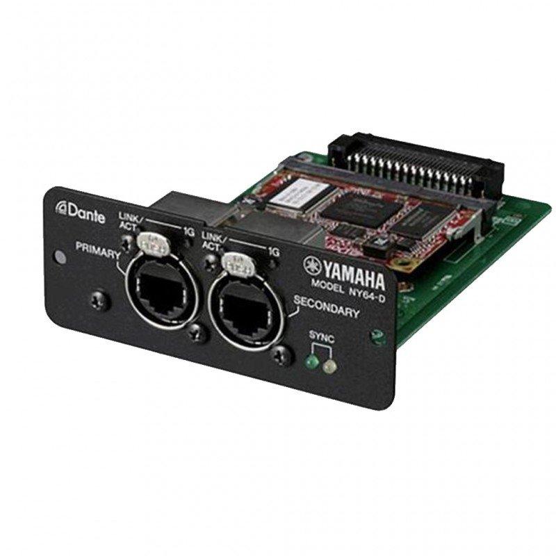 Scheda audio yamaha ny64d dante i o expansion card for Yamaha dante card