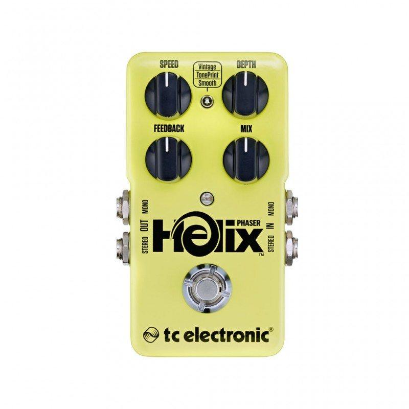 pedale effetto tc electronic helix phaser