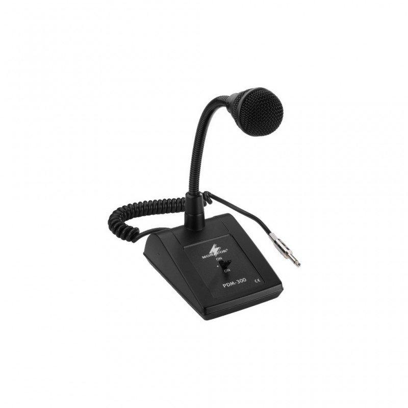 Microfono da tavolo monacor pdm 300 jack mono 6 3 firefly audio strumenti musicali - Microfono da tavolo wireless ...