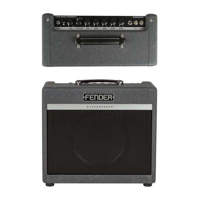 amplificatore per chitarra elettrica fender bassbreaker 15