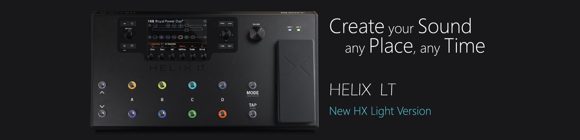 banner pubblicitario Helix LT