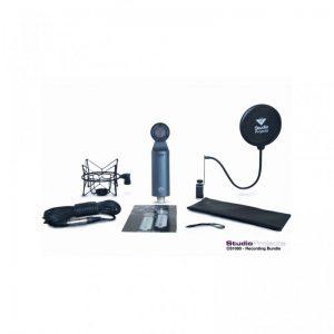 kit microfono a condensatore e vari accessori