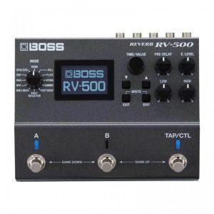 pedale effetto reverbero della Boss RV500