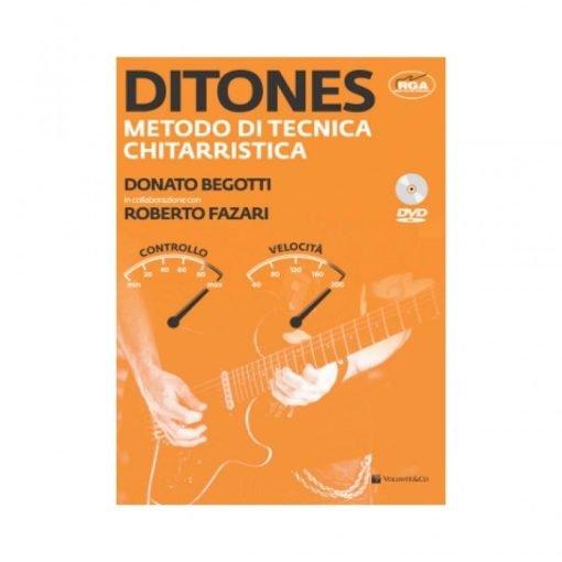 LIBRO Ditones – Metodo di tecnica chitarristica (con DVD) Begotti FazariLIBRO Ditones – Metodo di tecnica chitarristica (con DVD)