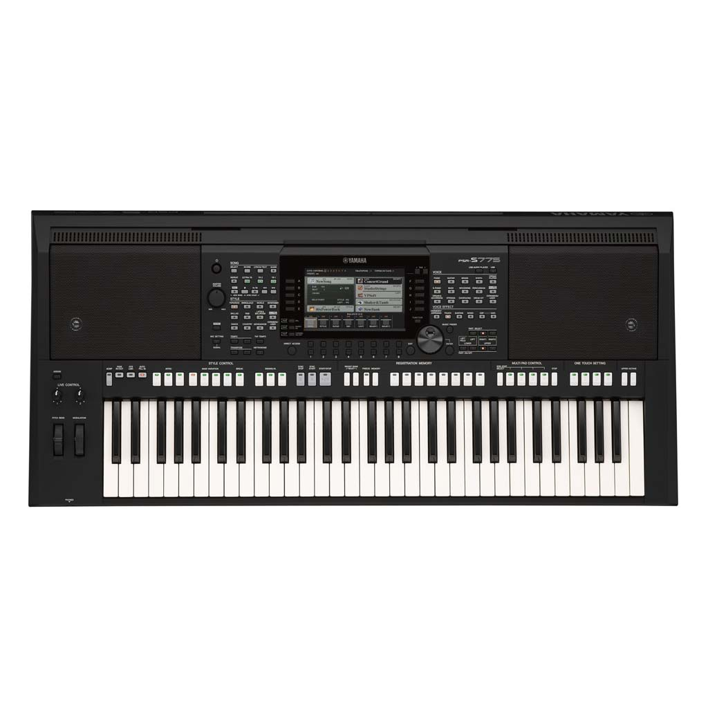 tastiera yamaha psr s775 firefly audio strumenti musicali. Black Bedroom Furniture Sets. Home Design Ideas