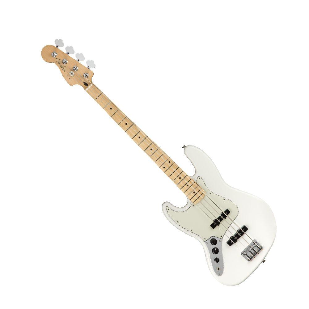 BASSO ELETTRICO MANCINO FENDER Player Jazz Bass Left-Handed MN Polar White